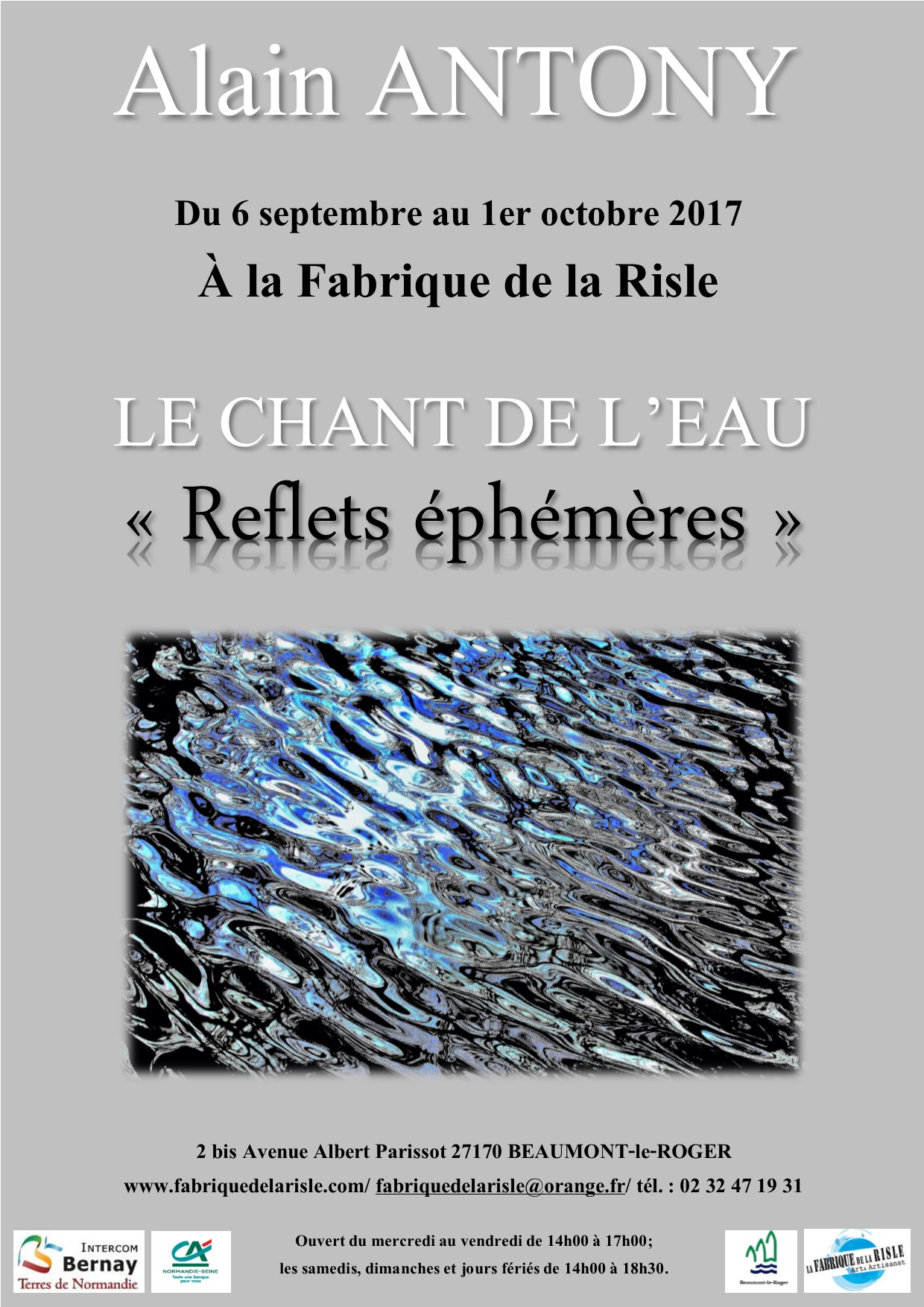 Exposition de photographies à la Fabrique de la Risle